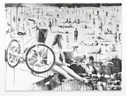 this beach crazy 2013-2014 RIKKI KASSO Sumi Ink -