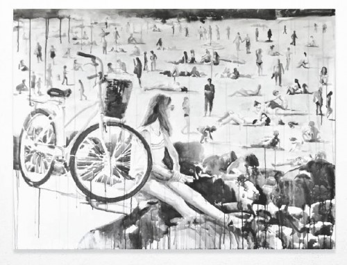 New Works in Sumi Ink – 2014