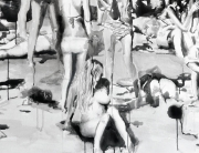 this beach crazy 2013-2014 RIKKI KASSO Sumi Ink -3